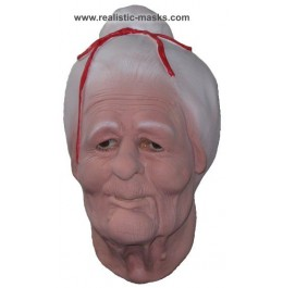 Latex Mask 'Old Lady'