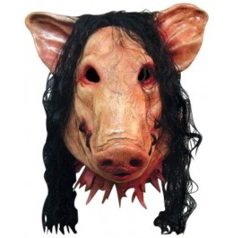 """SAW """"Pig Head"""" Licensed Movie Mask"""