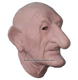 Latex Mask 'Scary Grandpa'
