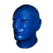 'Blue Rubber Man' Latex Face Mask