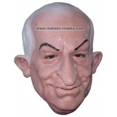 Latex Mask 'French Comedian'