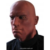Latex Face Mask 'The Afro American'