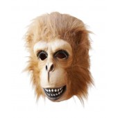 Ape Mask with attached Fake Fur