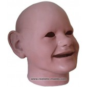 Latex Mask 'Scary Babyface'