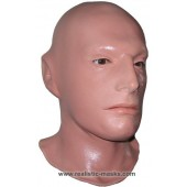 Realistic Latex Mask 'The Professional'
