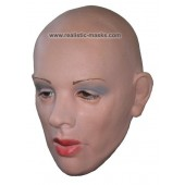 Woman's Face Rubber Mask