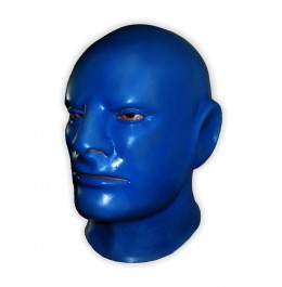 Maską Lateks 'Blue Rubber Man'