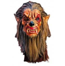 Halloween Maska Owłosiona Bestia