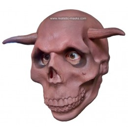 Halloween Maski 'Rogate Czaszki'