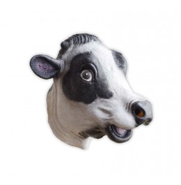 Lateksowa Krowia Maska Krowa