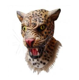 Maska Lateksowa Leopard