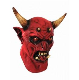 Maska potwór z rogami