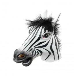Maska Lateksowa Zebra