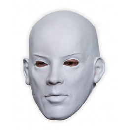Biała twarz Maska Lateks