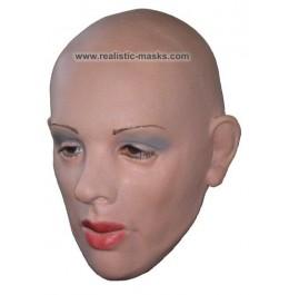 Maska Lateks 'Twarz Kobiety'