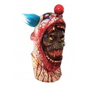 Maska Horror Clown z Złamaną Szczękę