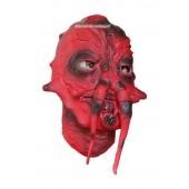 Maska Twarz Potwora Czerwony