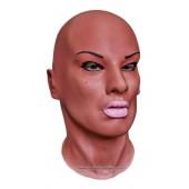 Maska Lateksowa Diva Czarny