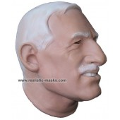 Máscara de Látex 'Médico Chefe'