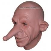 Máscara de Látex 'Senhor Nariz Grande'