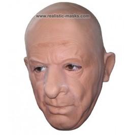 Latex Masker 'Hoogleraar'
