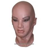 Vrouw Latex Masker 'Sylvie'