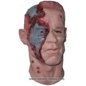 Latex Masker 'Cyborg uit de Toekomst'