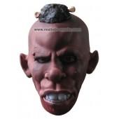 'Zwarte Piet' Latex Masker voor Carnaval