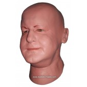 Uomo Grasso Maschera di Lattice