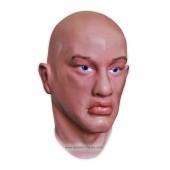 Maschera Realistico 'Uomo con Gli Occhi Blu'