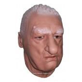 Maschera Realistico Volto Maschile 'L'Istruttore'