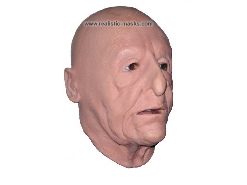 Latex Foam Mask Grandfather Masque De Vieux Grand Pere