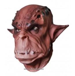 Masque de Visage Orque Brun