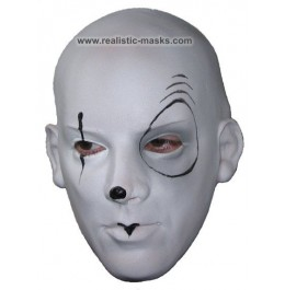 Masque pour Carnaval 'Pedrolino'