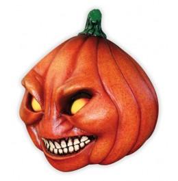 Masque Halloween Tête de Citrouille Méchante