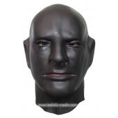 Masque de Caoutchouc de Couleur Noire