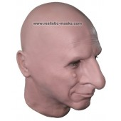 Masque Réaliste de Latex 'Speaker du stade'