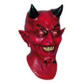 Diable Rouge Masque d'Horreur