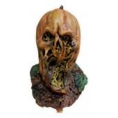 Masque Halloween 'Visage de la Citrouille Pourrie'
