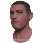 Masque Réaliste de Latex 'Recrue'