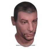 Masque Réaliste en Latex 'Escroc'